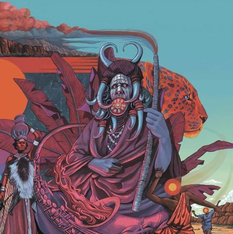 idris ackamoor & the pyramids, shaman!