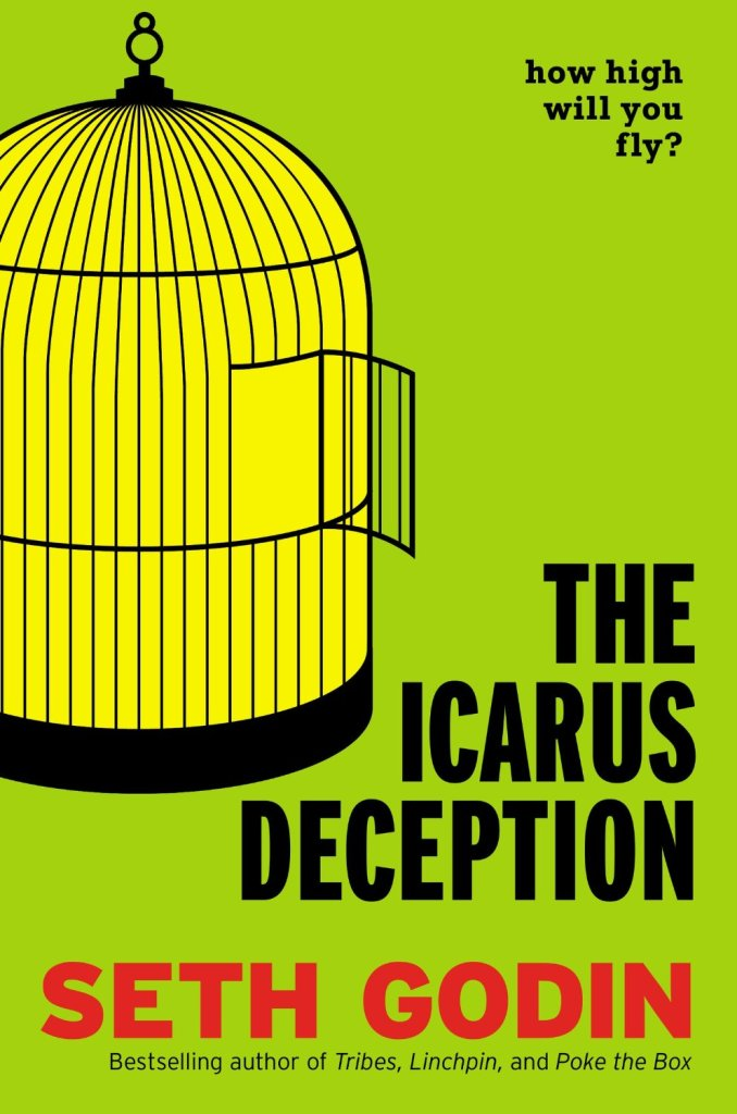 Book Cover: The Icarus Deception by Seth Godin