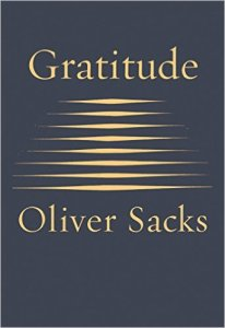 Book Cover: Gratitude by Oliver Sacks