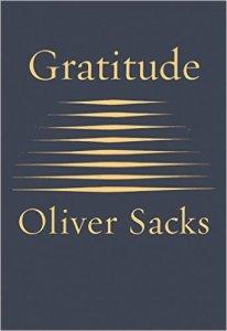 Book Cover: Gratitude by Oliver Sacks