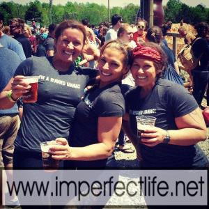Lisa, Anne Marie and Andrea at Rugged Maniac
