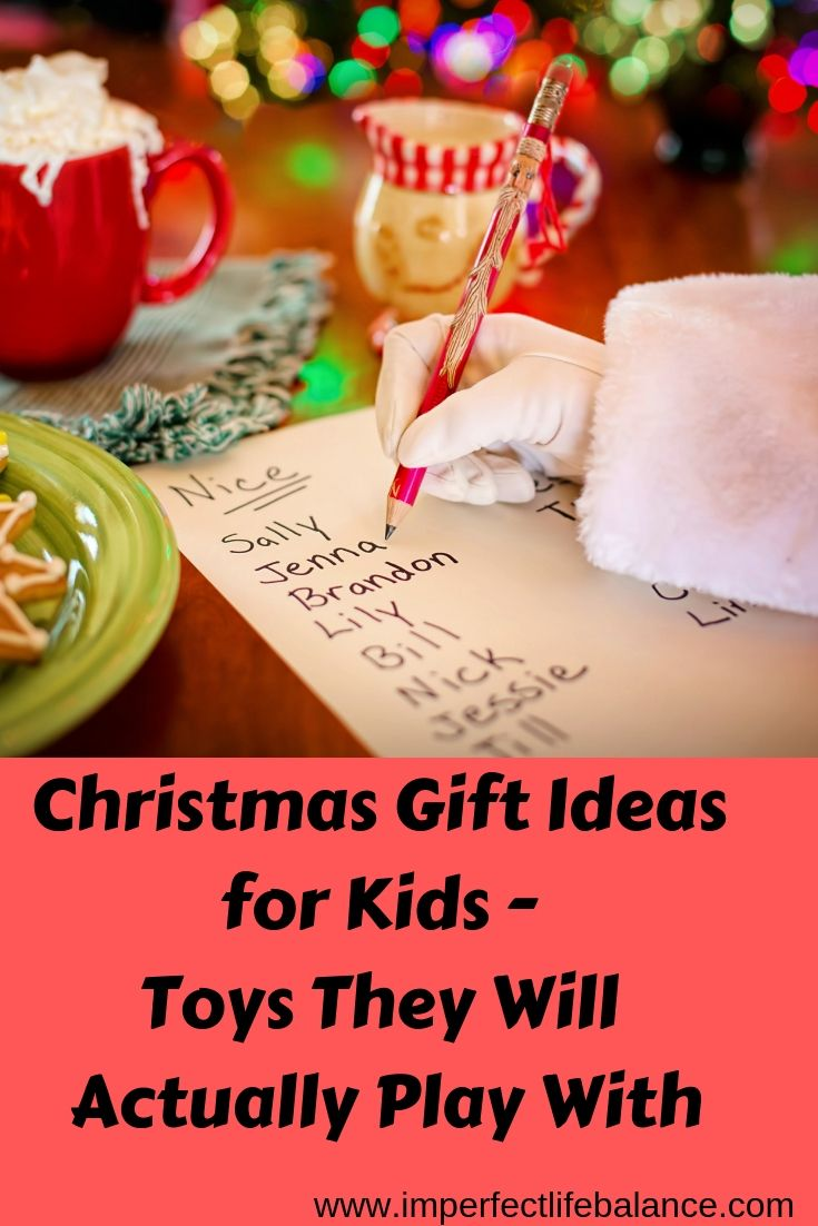Christmas Gift Ideas for Kids - Toys They wWill Actually Play With