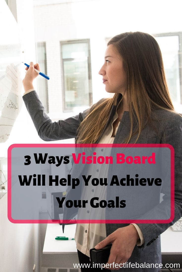 3 Ways Vision Board Will Help You Achieve Your Goals