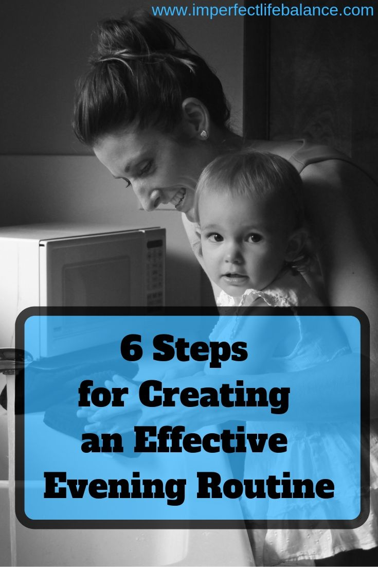 6 Steps for Creating an Effective Evening Routine