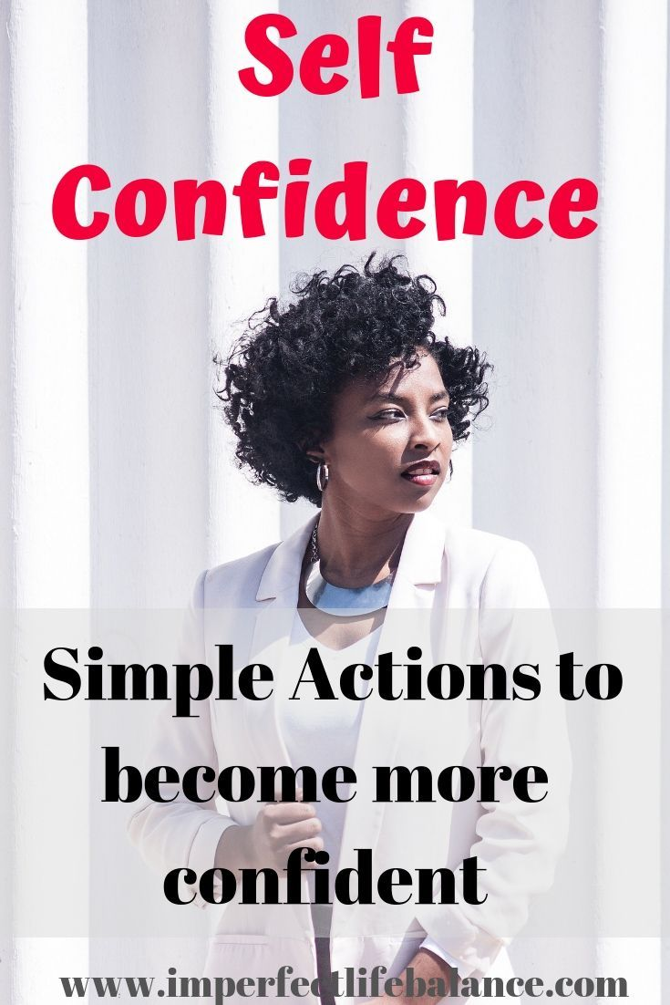 Increase Your Self-Confidence