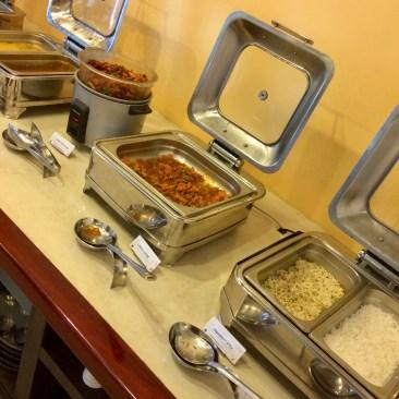 Mains - Plain Rice, Veg Fried Rice, Chilly Gobi, Honey Chilli Potatoes