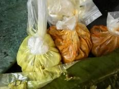 Parippu, Fish Curry, Sambhar