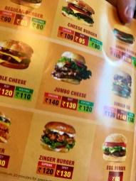 Burger Lounge - Menu