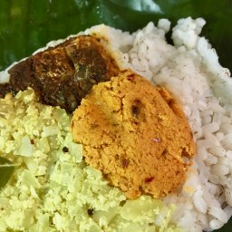 Pothichoru - Chammanthi, Fried Fish