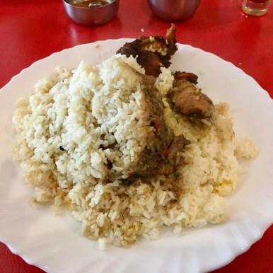 Bamboo Chicken Biriyani