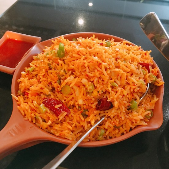 Szechwan Chicken Fried Rice