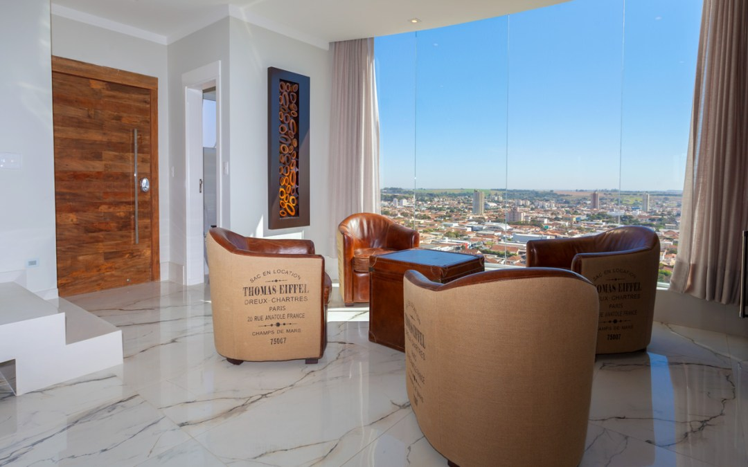 Portas acústicas em apartamento de solteiro!