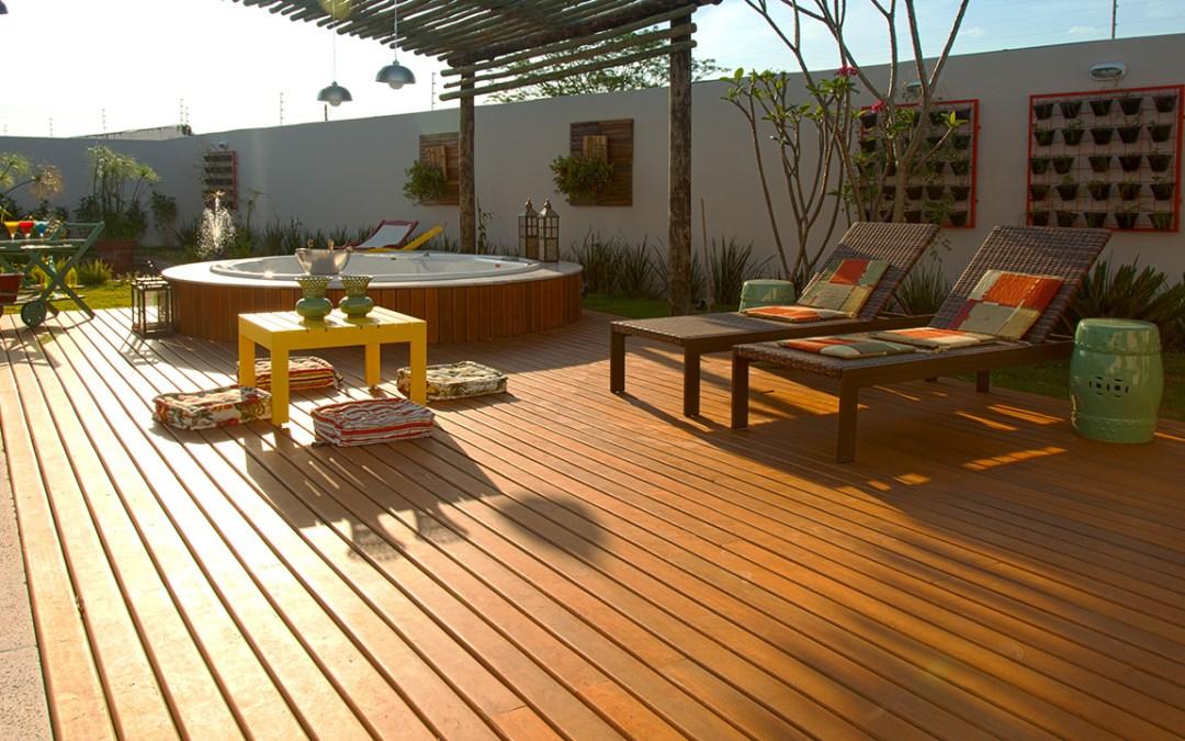 Decks de Madeira transformam ambientes!