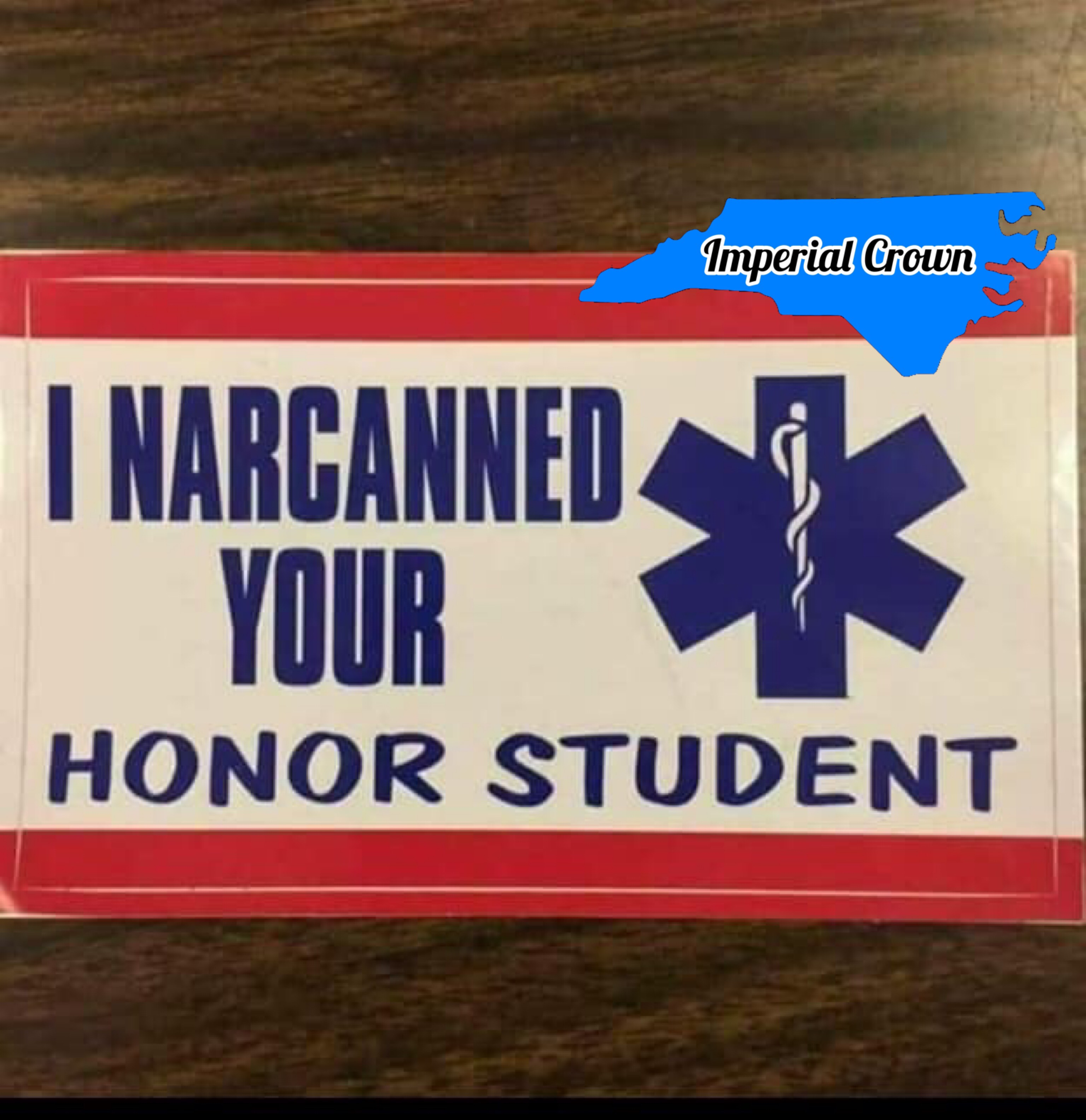 I narcanned your honor…….