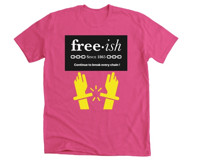 Freeish Pink  T shirt