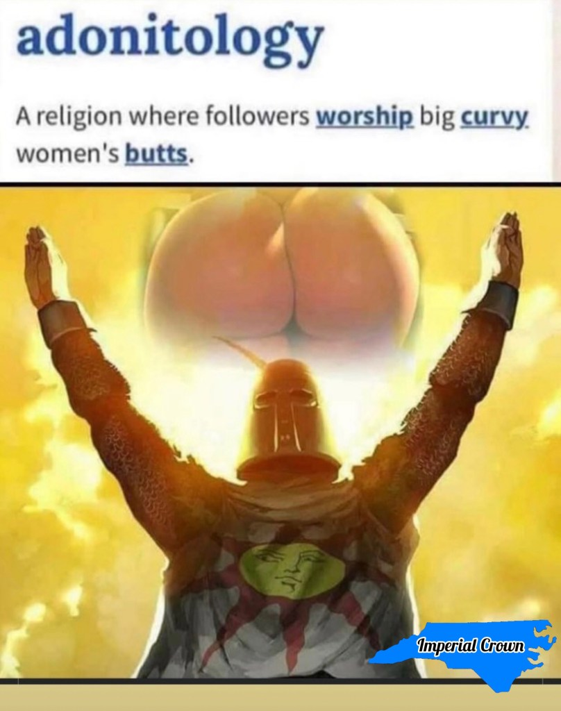 Adonitology a religion where followers worship big curvy women's butts