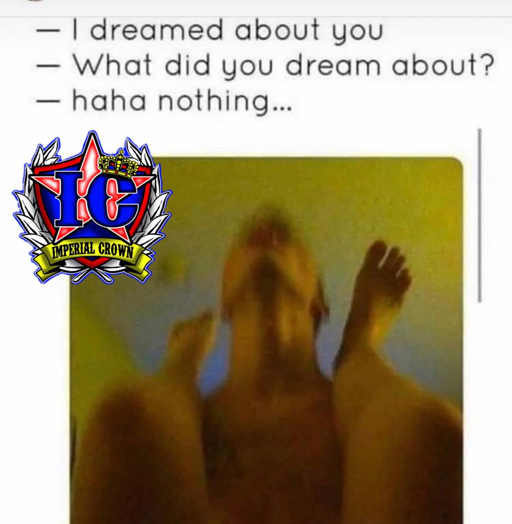 I dreamed about you what did you dream about haha nothing