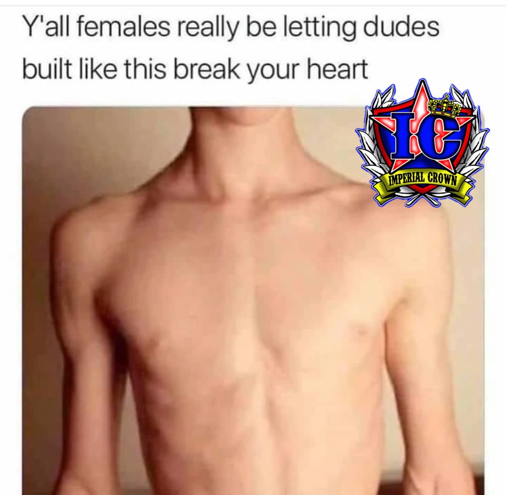 Y'all females really be letting dudes built like this break your heart