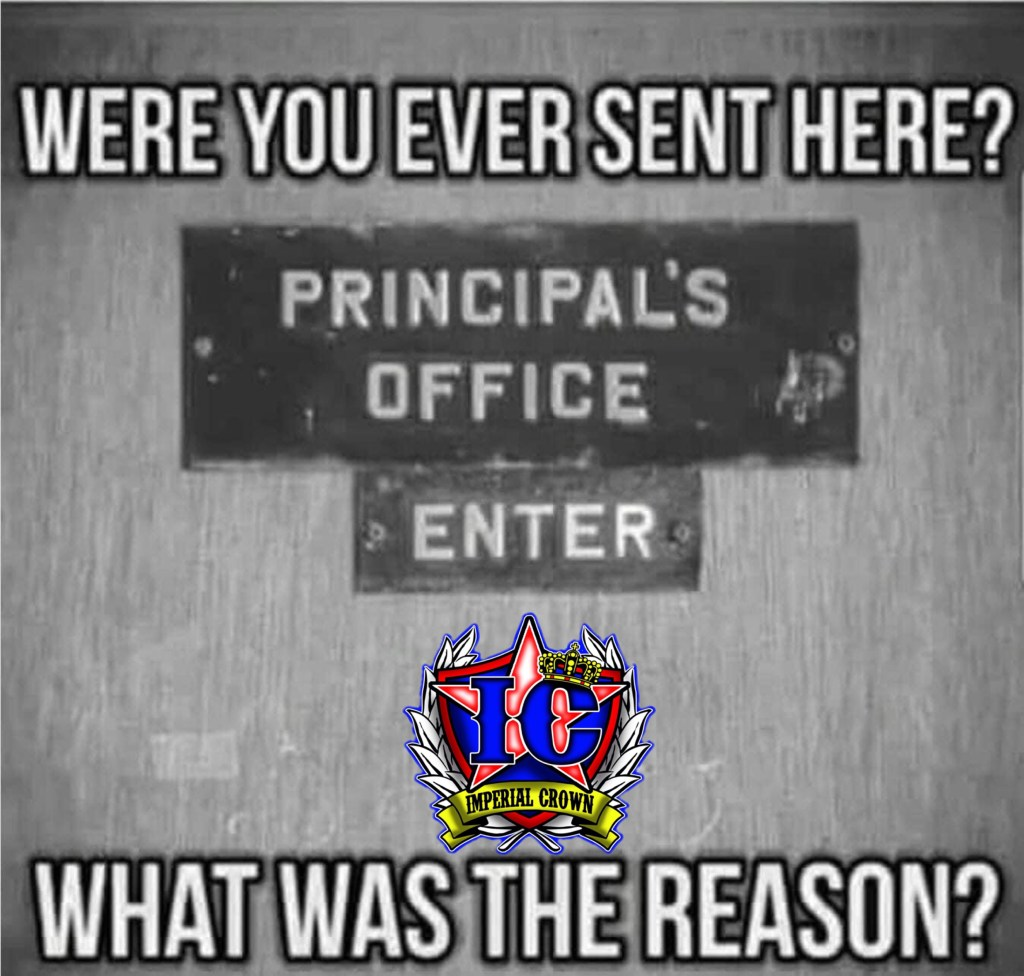 Were you ever sent here?  what was the reason?