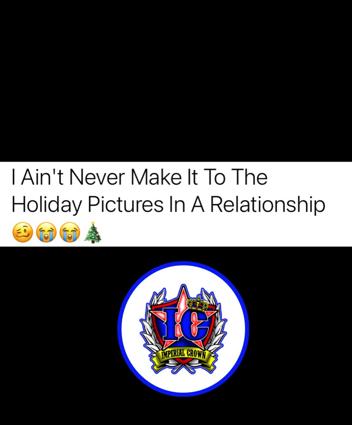 I ain't never make it to the holiday pictures in a relationship🥴😭😭🎄