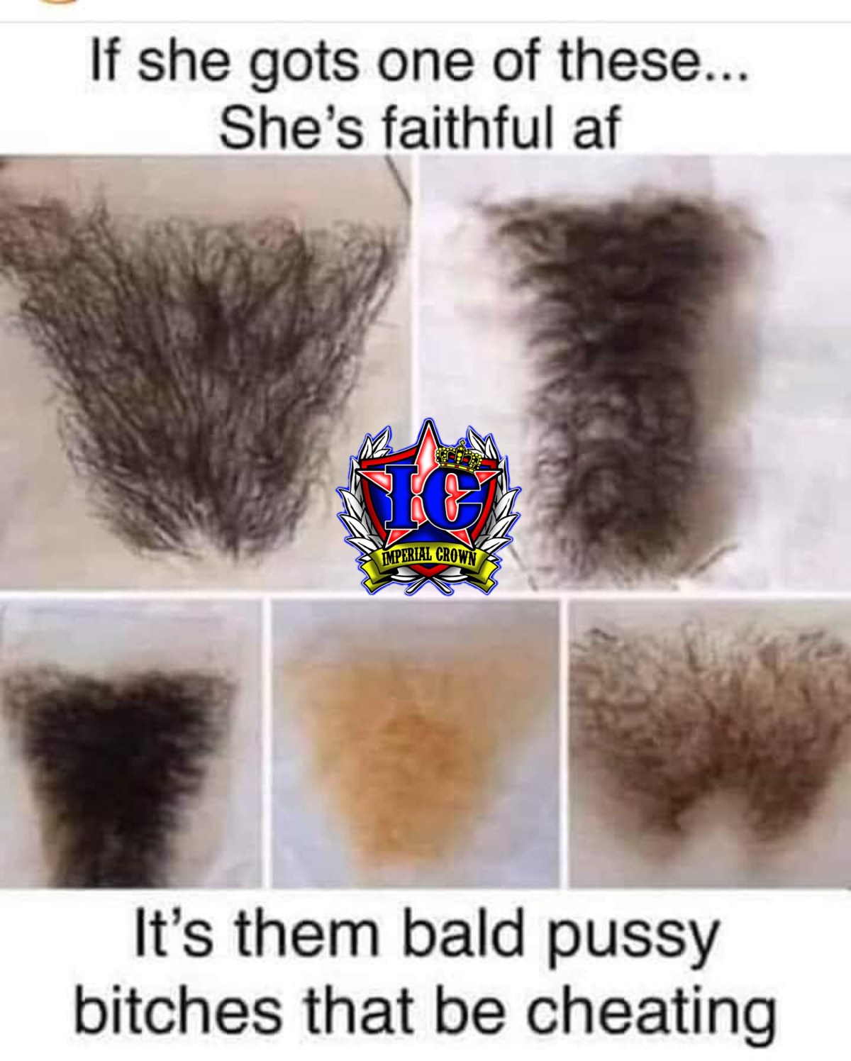 If she got one of these…. She is faithful af, It's them bald bitches that be cheating