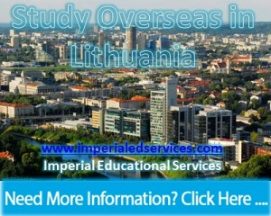 Study Overseas in Lithuania