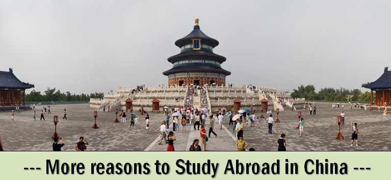 Top reasons to study abroad in china