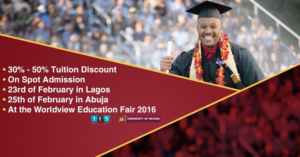 Worldview Education Fair 2016 – Come meet the University of Nicosia