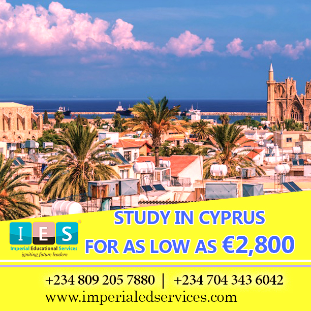 Why you should study In Cyprus.