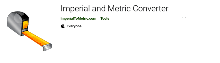 Imperial and Metric Converter - Available on Google Play