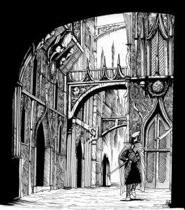 Warhammer Quest Settlements - City Street