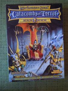 Photo Warhammer Quest: Catacombs of Terror supplement box front