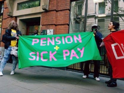 pension sick pay lse