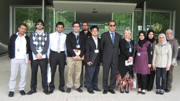 PG Fellows visiting Geneva, June 2011