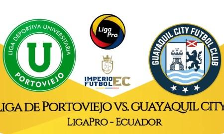EN VIVO PARTIDO LIGA DE PORTOVIEJO VS GUAYAQUIL CITY FECHA 7