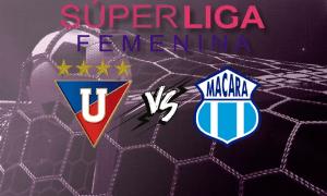 Liga de Quito vs Macará EN VIVO