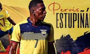 Pervis Estupiñan Ecuador