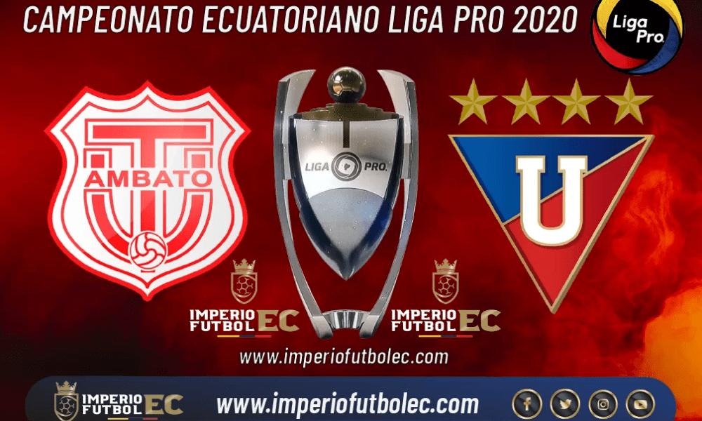 Técnico Universitario vs Liga de Quito EN VIVO-01