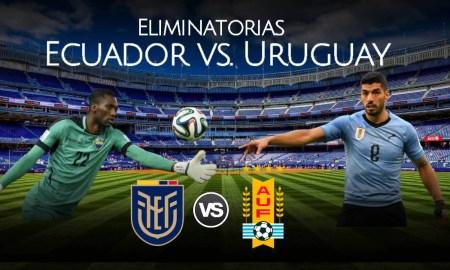 Partido Ecuador vs Uruguay EN VIVO por las Eliminatorias
