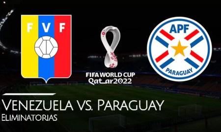EN VIVO Venezuela vs Paraguay partido