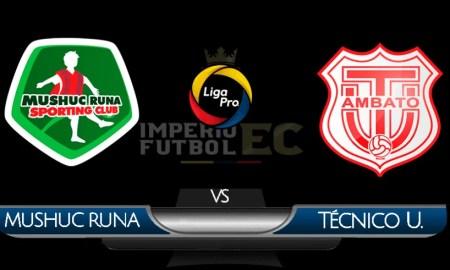 Mushuc Runa vs Técnico Universitario EN VIVO Gol TV