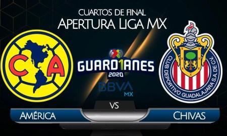América vs Chivas EN VIVO TUDN por cuartos de final de Liga MX