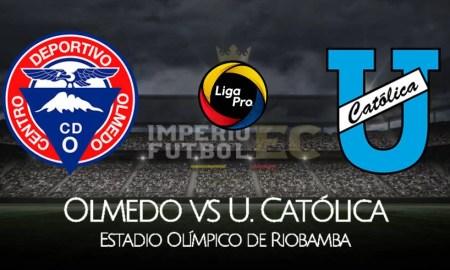 Olmedo vs U. Católica EN VIVO GOLTV EN DIRECTO por la Liga Pro