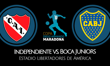 Boca Juniors vs Independiente EN VIVO Copa Diego Maradona