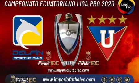 Delfín vs Liga de Quito EN VIVO-01