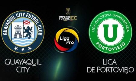GUAYAQUIL CITY vs LIGA DE PORTOVIEJO EN VIVO GOL TV LIGA PRO