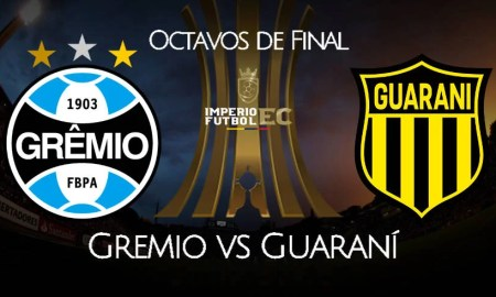 Gremio vs Guaraní EN VIVO ESPN por octavos de final de Libertadores