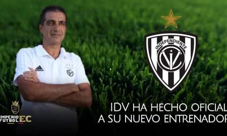 IDV ha hecho oficial al portugués Renato Paiva como su nuevo DT