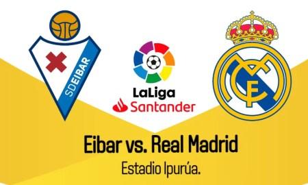 Real Madrid Eibar EN VIVO ESPN Transmisión en directo