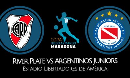 River Plate vs Argentinos Juniors EN VIVO Fox Sports Premium ONLINE por la Copa Diego Maradona